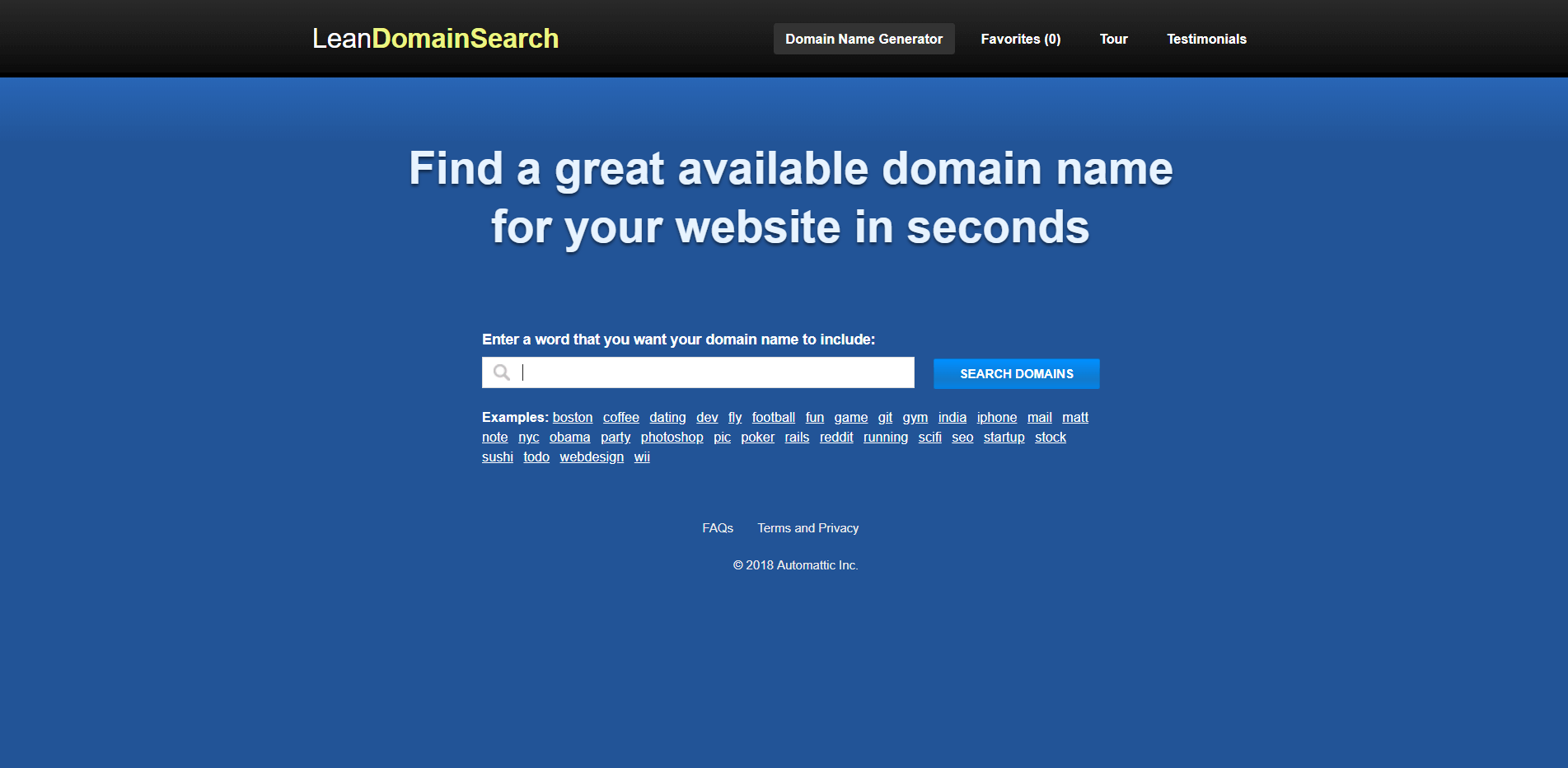 LeanDomainSearch